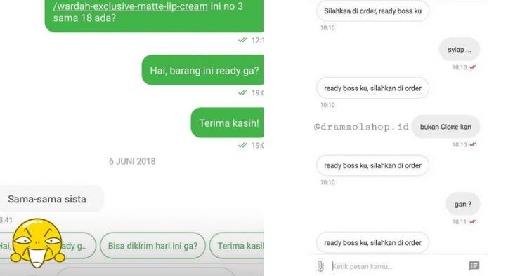7 Chat penjual online shop 'nggak niat' jualan, bikin ikut geregetan