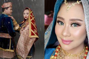 Bergaya adat Minang, ini 11 momen hangat pernikahan Chikita Meidy