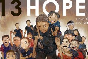 7 Ilustrasi dukungan untuk 13 orang yang terjebak di gua, bikin haru