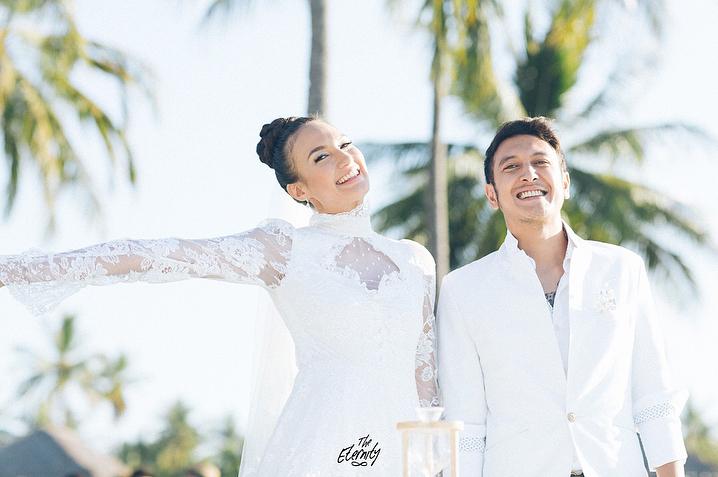 Menikah di luar negeri, 5 seleb ini tetap gelar resepsi di Indonesia