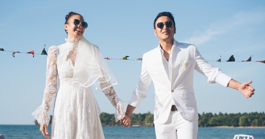 Beda keyakinan, 6 pasangan seleb ini pilih menikah di luar negeri
