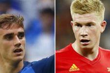 Prediksi pertandingan Perancis vs Belgia, duel bertabur bintang