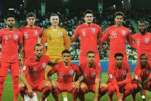 8 Aksi seru timnas Inggris latihan pakai squishy jelang laga semifinal