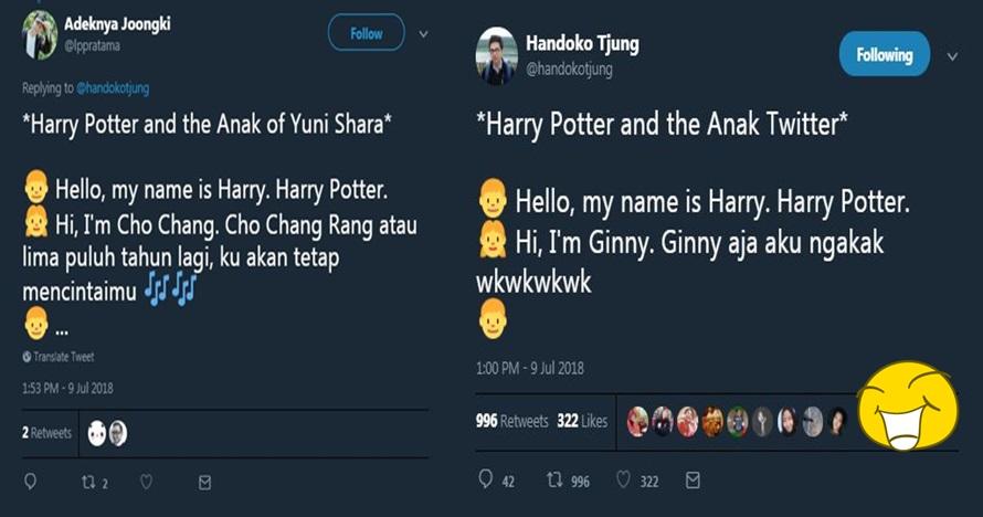 9 Cuitan lucu 'Harry Potter' ini recehnya nggak ketulungan