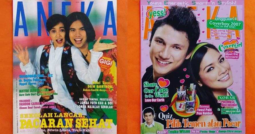 Ikonik abis, ini 10 potret lawas seleb jadi model majalah Aneka Yess!
