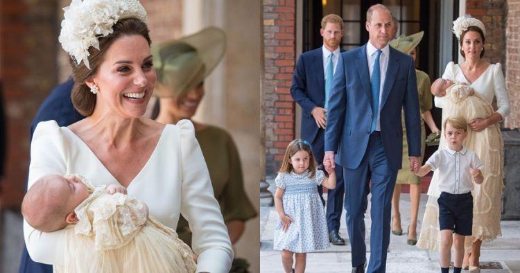 10 Momen manis pembaptisan Louis, anak ketiga Kate & Pangeran William