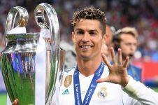 Resmi ke Juventus, begini pesan perpisahan CR7 untuk fans Real Madrid