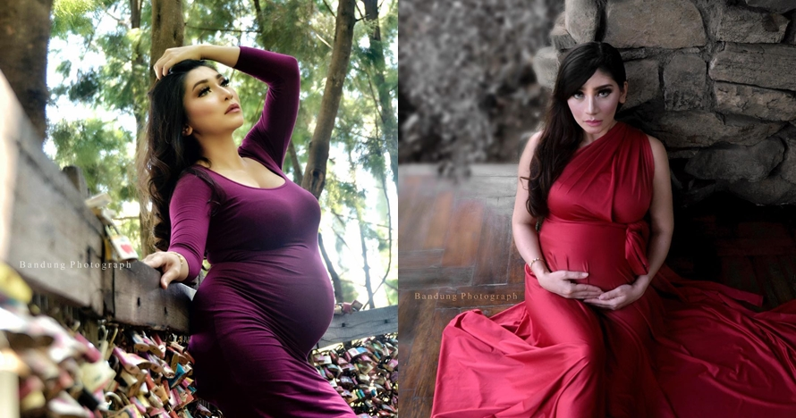 Elegan dan seksi, begini 10 potret maternity ala Baby Margaretha