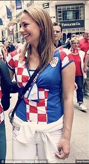 8 Potret WAGs seksi yang bakal bikin semangat Kroasia berlipat © 2018 brilio.net