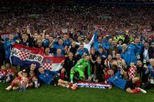 Kroasia lolos ke final, menanti juara baru Piala Dunia 2018