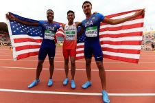 Zohri, pelari Indonesia peraih medali emas yang mencetak sejarah dunia