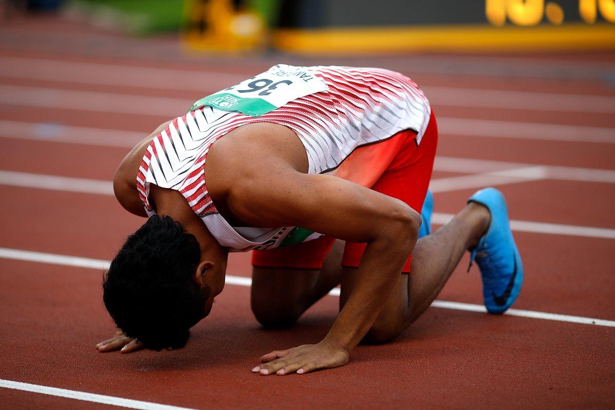 Ini kata Zohri usai juara dunia lari 100 meter