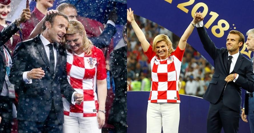 6 Pesona Kolinda Grabar, Presiden cantik yang juga super fans Kroasia