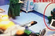 Kisah haru dokter mengoperasi 9 pasien sambil tahan sakit usus buntu