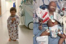 Kisah bayi pengidap kanker berjuang bertahan hidup ini bikin mewek