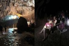 10 Foto perdana korban terjebak di gua usai dievakuasi & dirawat di RS