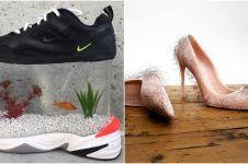 Antimainstream, 10 sepatu ini desainnya bikin kamu kucek-kucek mata