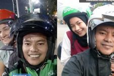 8 Aksi driver ojol gombalin & ajak selfie penumpang cantik, pede abis!