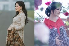 Dua kali foto maternity, ini beda 7 gaya Kahiyang Ayu yang memesona