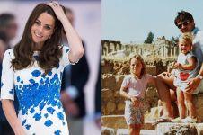 8 Potret lawas Kate Middleton saat masih kecil, cantiknya sedari dulu