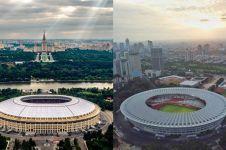 9 Potret bukti stadion tempat final Piala Dunia kembaran SUGBK