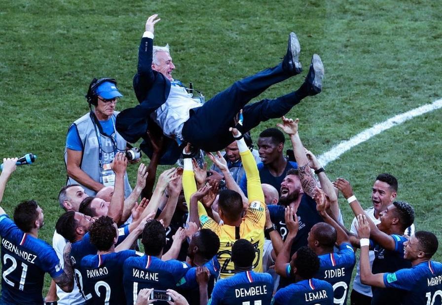 Dua pemain Prancis ini raih gelar juara dunia tanpa pernah bertanding