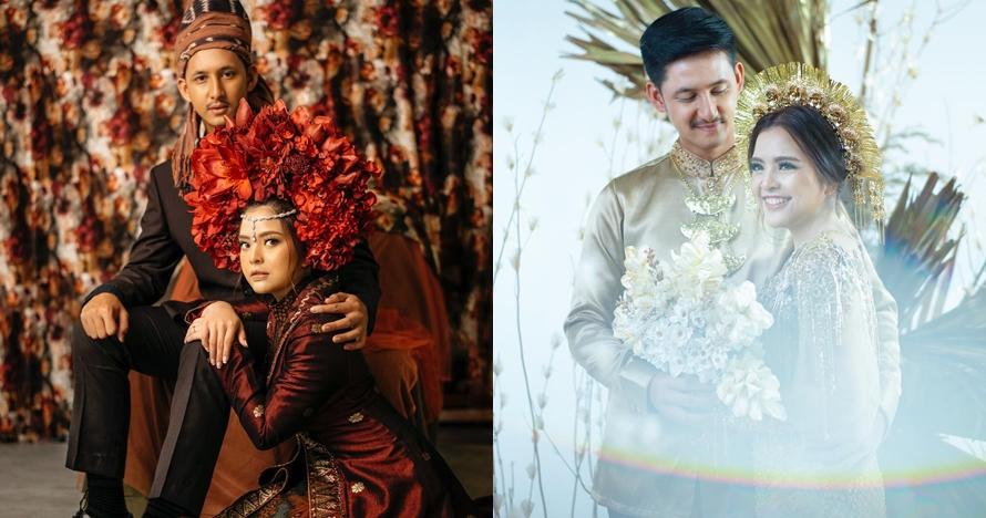 8 Potret prewedding Tasya Kamila & Randi, berkonsep adat Minang