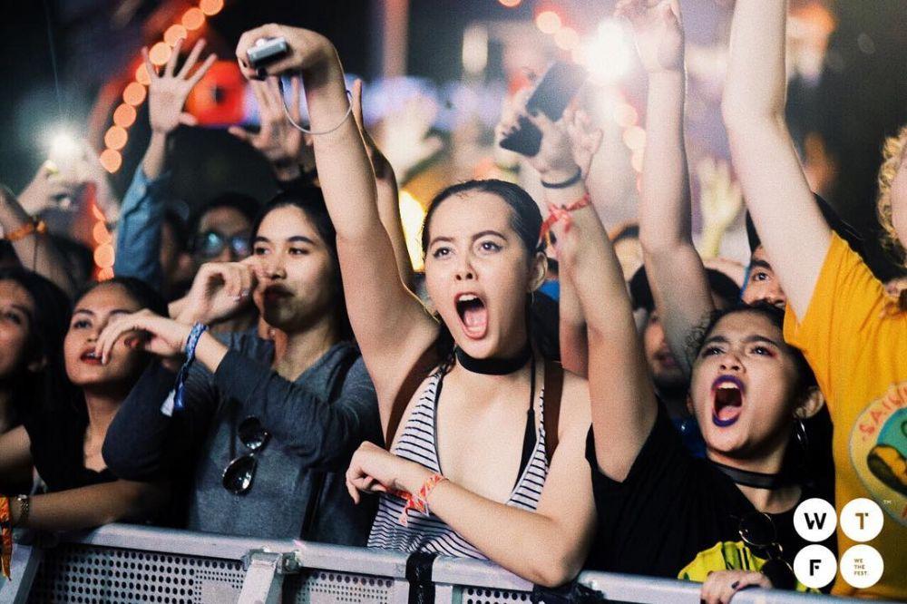 Bukan konser biasa, ini 5 cara seru nikmatin party We The Fest 2018 berbagai sumber