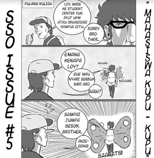 komik strip mahasiswa kocak facebook/@sebut saja oloy