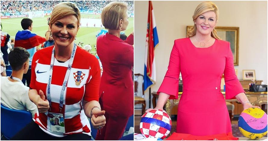 Curi perhatian di Piala Dunia, Presiden Kroasia dikira bintang porno