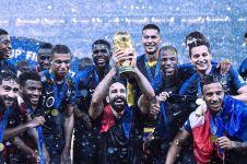 Satu pemain Prancis perebut Piala Dunia berdarah Asia Tenggara, wow