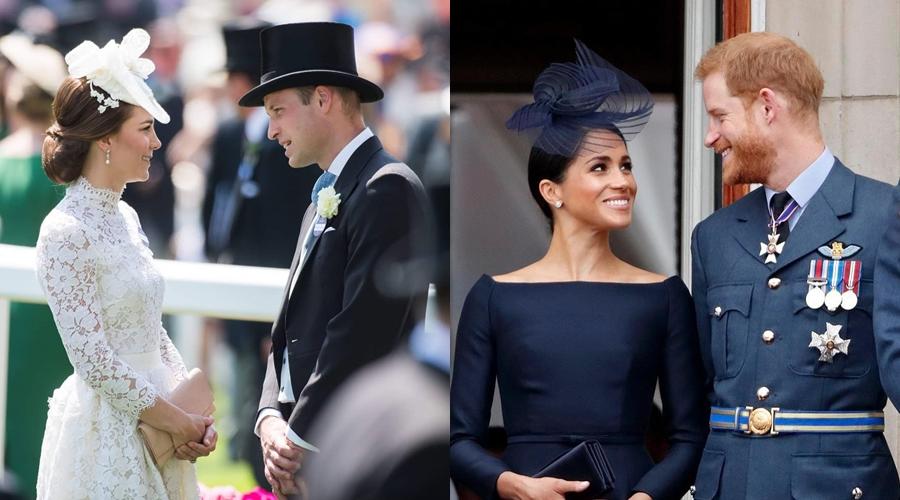 Beda gaya mesra royal couple © 2018 brilio.net