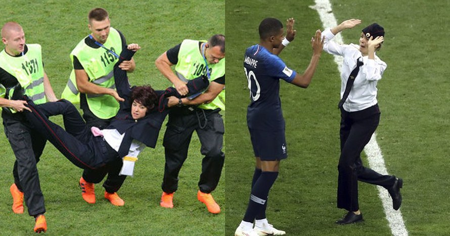 Ini hukuman yang dijatuhkan kepada 4 penyusup laga Prancis vs Kroasia