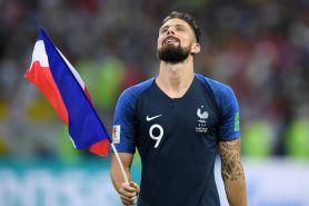 Prancis juara, ini nazar Olivier Giroud yang akan dilakukan 22 Juli