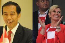 15 Potret aktivitas Presiden Kroasia ini ingatkan pada gaya Jokowi