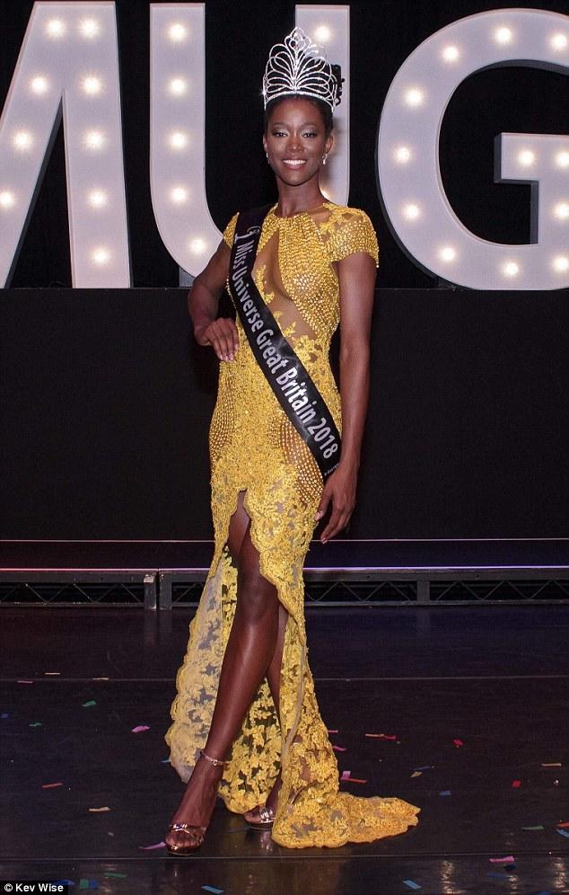 Pertama di Inggris, wanita kulit hitam ini jadi wakil di Miss Universe © 2018 brilio.net
