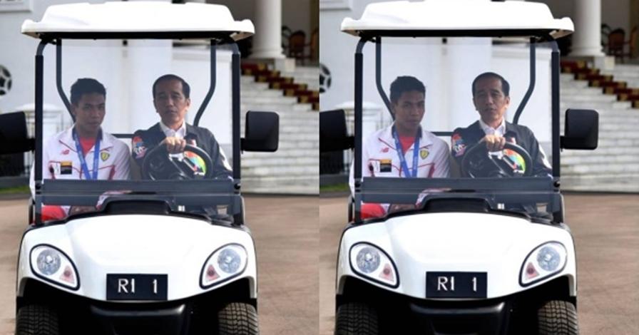 Presiden Jokowi sebut Zohri orang besar Indonesia, ini alasannya
