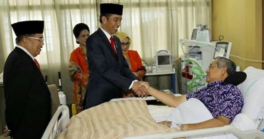 Terungkap, ini sakit yang bikin SBY terbaring di RSPAD