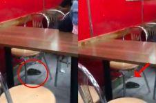 Reaksi staf restoran saat temukan tikus ini bikin pengunjung syok
