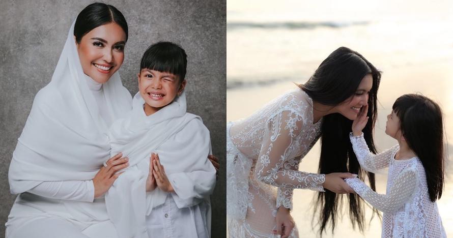 Kompak abis, ini 10 momen ceria Denada & putrinya saat kembaran baju