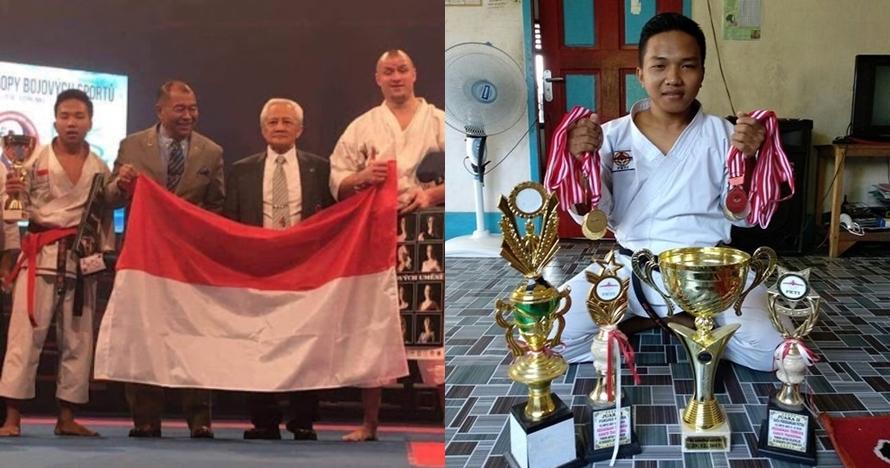 Berbekal Rp 600 ribu, kisah Fauzan jadi Juara Dunia karate bikin salut
