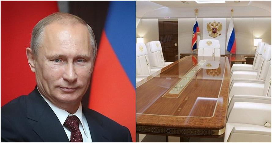 Jadi penguasa Rusia, ini 10 penampakan jet Vladimir Putin yang mewah