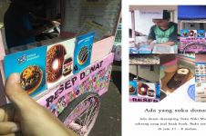 Viral kisah penjual donat tunarungu di Salatiga, warganet terharu