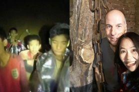 Terlibat evakuasi di gua Thailand, sejoli beda bangsa ini cinta lokasi