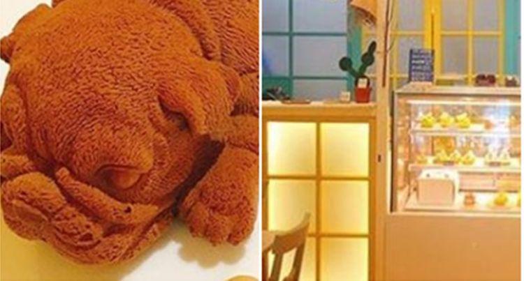 Viral es krim bentuk anjing lucu di Taiwan, tega menyantapnya?