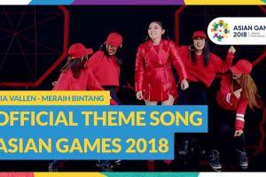 Ini 12 lagu resmi Asian Games 2018, libatkan banyak penyanyi top