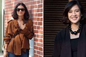 7 Gaya OOTD outerwear ala Dian Sastro, bisa jadi inspirasi style kamu