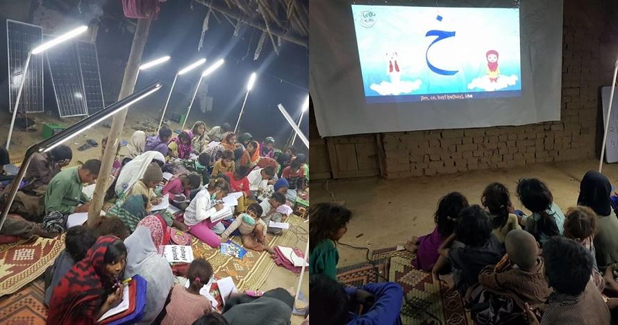 Pakai tenaga surya, 10 potret sekolah kampung Pakistan ini bikin kagum