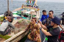 Pesan Menteri Susi pada nelayan Cirebon setelah beli udang Rp 1 juta