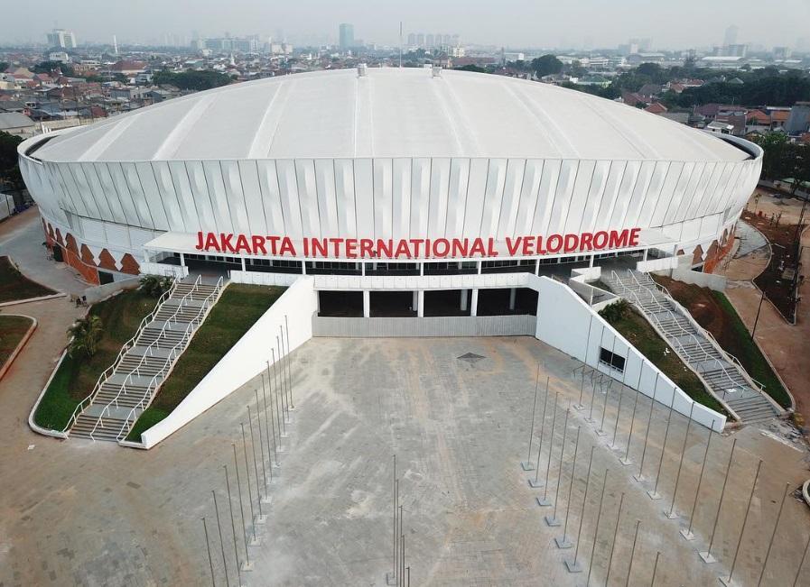 Terbaik di Asia, ini 11 penampakan velodrome Asian Games 2018